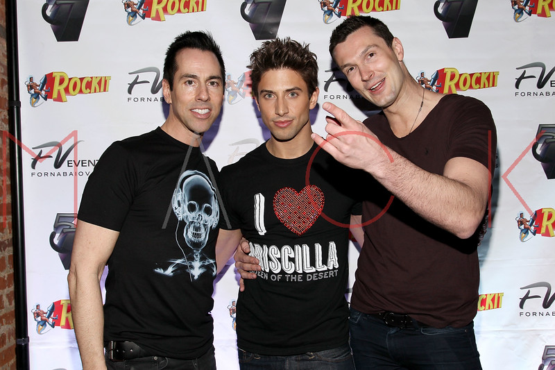 NEW YORK, NY - MARCH 11:  Tony Fornabaio, Nick Adams and Brandon Voss visit Quo Nightclub on March 11, 2011 in New York City.  (Photo by Steve Mack/S.D. Mack Pictures) *** Local Caption *** Tony Fornabaio; Nick Adams; Brandon Voss