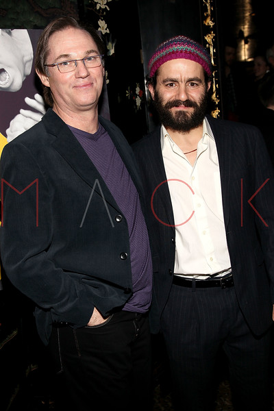 """NEW YORK, NY - MARCH 01:  Actors Richard Thomas and Max Casella attend the opening night of """"Timon of Athens"""" at the Chinatown Brasserie on March 1, 2011 in New York City.  (Photo by Steve Mack/S.D. Mack Pictures) *** Local Caption *** Richard Thomas; Max Casella"""