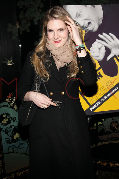 """NEW YORK, NY - MARCH 01:  Actress Lily Rabe attends the opening night of """"Timon of Athens"""" at the Chinatown Brasserie on March 1, 2011 in New York City.  (Photo by Steve Mack/S.D. Mack Pictures) *** Local Caption *** Lily Rabe"""