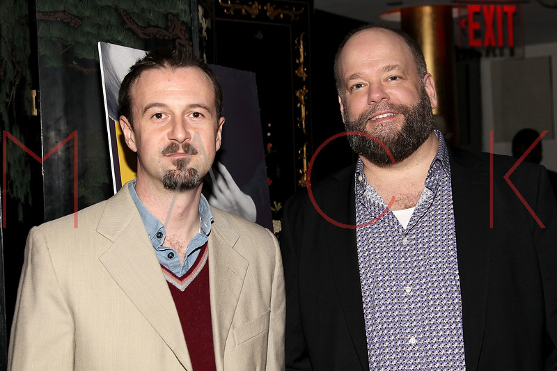 "NEW YORK, NY - MARCH 01:  Actors Greg McFadden and Brian Keane attend the opening night of ""Timon of Athens"" at the Chinatown Brasserie on March 1, 2011 in New York City.  (Photo by Steve Mack/S.D. Mack Pictures) *** Local Caption *** Greg McFadden; Brian Keane"