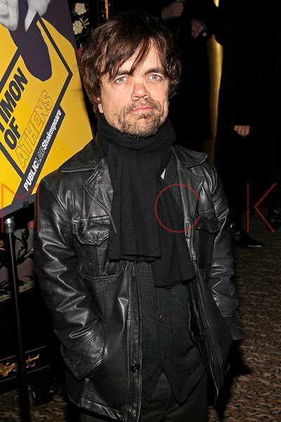 "NEW YORK, NY - MARCH 01:  Actor Peter Dinklage attends the opening night of ""Timon of Athens"" at the Chinatown Brasserie on March 1, 2011 in New York City.  (Photo by Steve Mack/S.D. Mack Pictures) *** Local Caption *** Peter Dinklage"