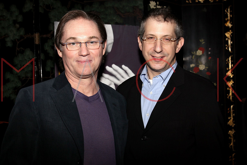 """NEW YORK, NY - MARCH 01:  Actor Richard Thomas and Director Barry Edelstein attend the opening night of """"Timon of Athens"""" at the Chinatown Brasserie on March 1, 2011 in New York City.  (Photo by Steve Mack/S.D. Mack Pictures) *** Local Caption *** Richard Thomas; Barry Edelstein"""