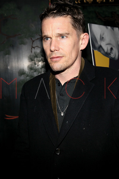 "NEW YORK, NY - MARCH 01:  Actor Ethan Hawke attends the opening night of ""Timon of Athens"" at the Chinatown Brasserie on March 1, 2011 in New York City.  (Photo by Steve Mack/S.D. Mack Pictures) *** Local Caption *** Ethan Hawke"