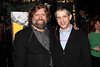 "NEW YORK, NY - MARCH 01:  Artistic Director Oskar Eustis and Director Barry Edelstein attend the opening night of ""Timon of Athens"" at the Chinatown Brasserie on March 1, 2011 in New York City.  (Photo by Steve Mack/S.D. Mack Pictures) *** Local Caption *** Oskar Eustis; Barry Edelstein"