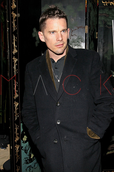 """NEW YORK, NY - MARCH 01:  Actor Ethan Hawke attends the opening night of """"Timon of Athens"""" at the Chinatown Brasserie on March 1, 2011 in New York City.  (Photo by Steve Mack/S.D. Mack Pictures) *** Local Caption *** Ethan Hawke"""