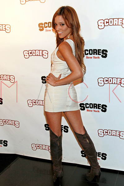 NEW YORK, NY - MARCH 03:  Melanie Rios attends a party at Scores on March 3, 2011 in New York City.  (Photo by Steve Mack/S.D. Mack Pictures) *** Local Caption *** Melanie Rios