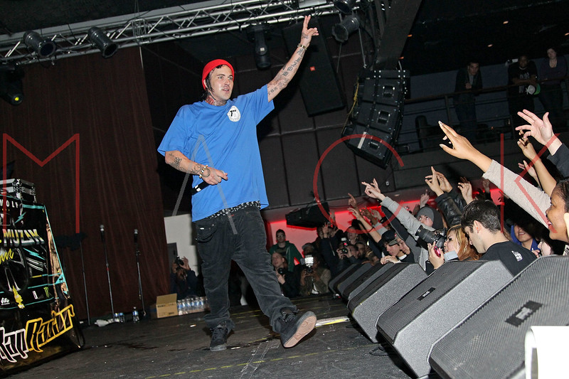 NEW YORK, NY - MARCH 08:  Yelawolf performs at the Highline Ballroom on March 8, 2011 in New York City.  (Photo by Steve Mack/S.D. Mack Pictures) *** Local Caption *** Yelawolf; Michael Wayne Atha