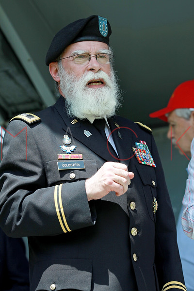 NEW YORK, NY - MAY 30:  A Veteran attends the 2011 Memorial Day Parade on May 30, 2011 in the Brooklyn Borough of New York City.  (Photo by Steve Mack/S.D. Mack Pictures)