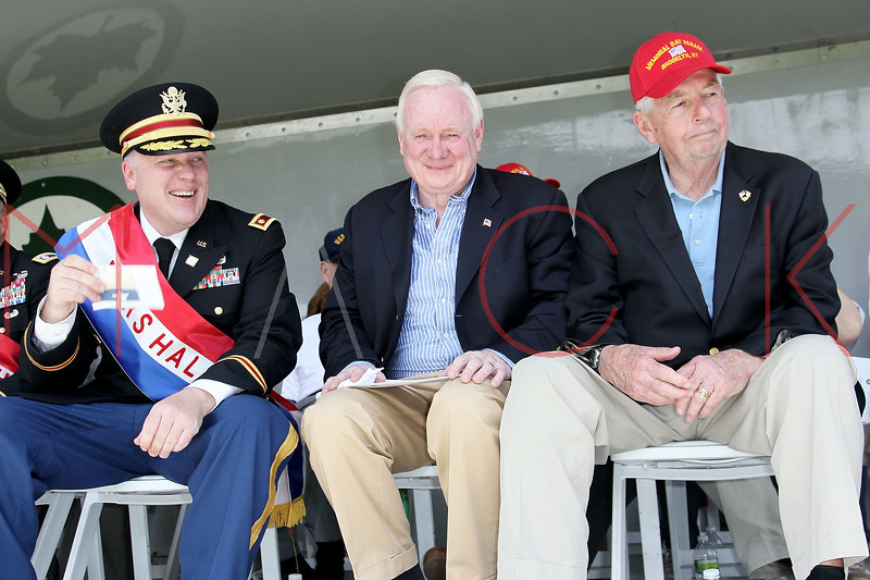 NEW YORK, NY - MAY 30:  Senator Marty Golden (middle) attends the 2011 Memorial Day Parade on May 30, 2011 in the Brooklyn Borough of New York City.  (Photo by Steve Mack/S.D. Mack Pictures) *** Local Caption *** Marty Golden