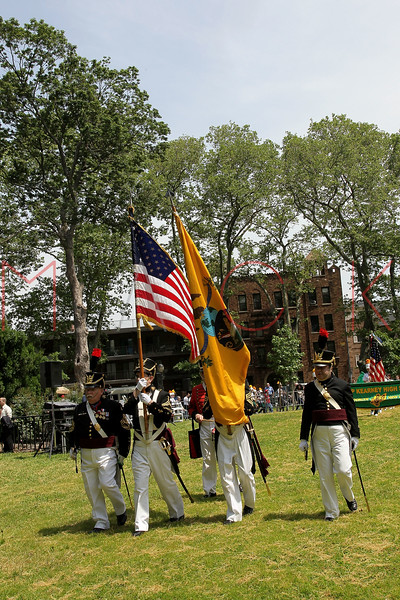 NEW YORK, NY - MAY 30:  The Veteran Corps of Artillery State of New York attend the 2011 Memorial Day Parade on May 30, 2011 in the Brooklyn Borough of New York City.  (Photo by Steve Mack/S.D. Mack Pictures)