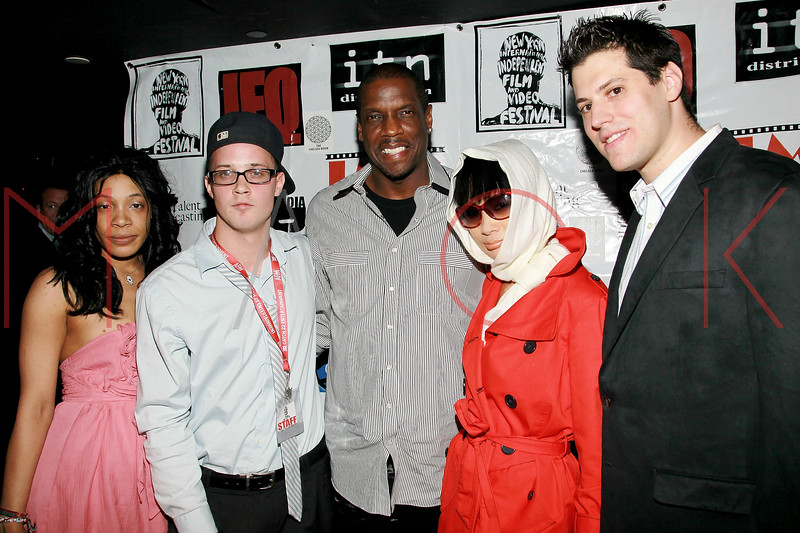 NEW YORK, NY - MAY 05:  Shannon Leonari, Shawn Michael Lukaszewicz, Dwight Gooden, Bai Ling and Jeff Krauss attend the closing party for the 2011 New York International Independent film festival at The Chelsea Room on May 5, 2011 in New York City.  (Photo by Steve Mack/FilmMagic)