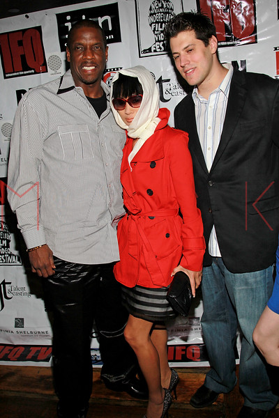 NEW YORK, NY - MAY 05:  Dwight Gooden, Bai Ling and Jeff Krauss attend the closing party for the 2011 New York Independent film festival at The Chelsea Room on May 5, 2011 in New York City.  (Photo by Steve Mack/FilmMagic)