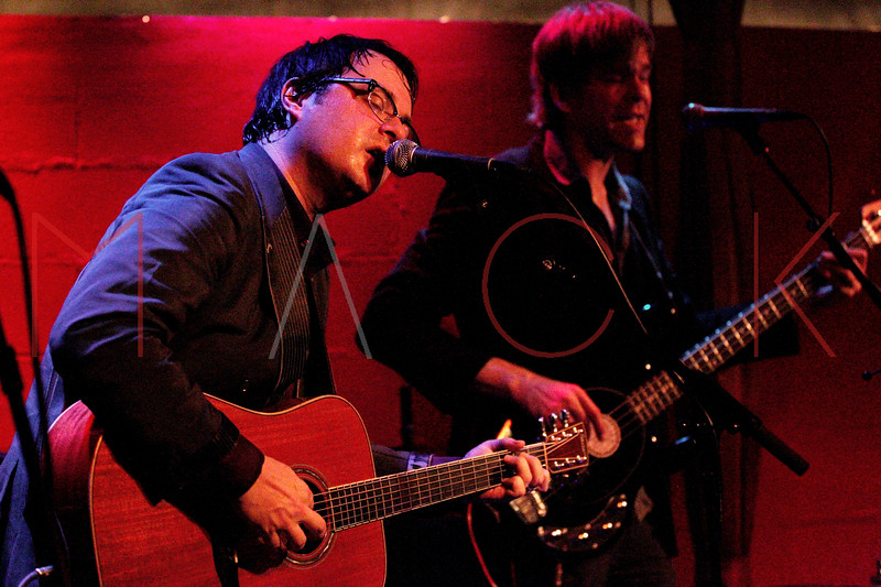 NEW YORK, NY - MAY 19:  Willem Hartong and Rob Chojnacki perform at Rockwood Music Hall on May 19, 2011 in New York City.  (Photo by Steve Mack/S.D. Mack Pictures) *** Local Caption *** Willem Hartong; Rob Chojnacki