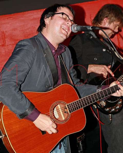 NEW YORK, NY - MAY 19:  Willem Hartong of Breaking Laces performs at Rockwood Music Hall on May 19, 2011 in New York City.  (Photo by Steve Mack/S.D. Mack Pictures) *** Local Caption *** Willem Hartong