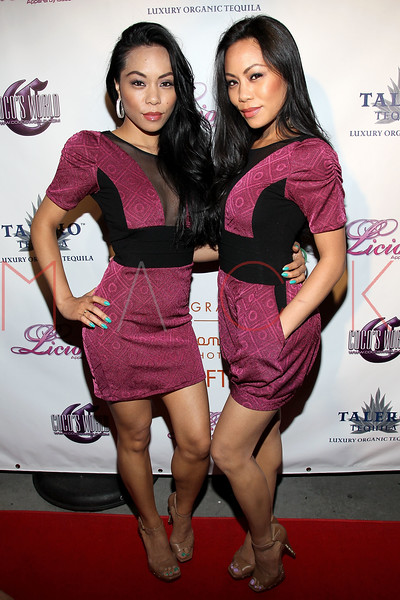 NEW YORK, NY - MAY 22:  The Sachika twins, Tonya and Totan attend the Coco Licious Clothing launch party at the Grace Hotel on May 22, 2011 in New York City.  (Photo by Steve Mack/S.D. Mack Pictures) *** Local Caption *** Tonya Sachika; Totan Sachika