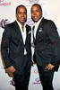 NEW YORK, NY - MAY 22:  Antoine and Andre Von Boozier of the Von Boozier Twins  attend the Coco Licious Clothing launch party at the Grace Hotel on May 22, 2011 in New York City.  (Photo by Steve Mack/S.D. Mack Pictures) *** Local Caption *** Antoine Von Boozier; Andre Von Boozier
