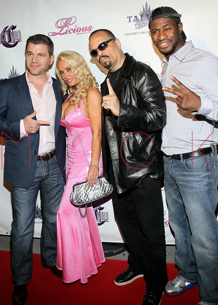 NEW YORK, NY - MAY 22:  Tom Murro, Coco, Ice-T and Eric Kelly attend the Coco Licious Clothing launch party at the Grace Hotel on May 22, 2011 in New York City.  (Photo by Steve Mack/S.D. Mack Pictures) *** Local Caption *** Tom Murro; Coco; Ice-T; Eric Kelly