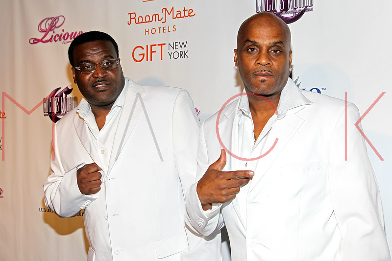 NEW YORK, NY - MAY 22:  The Force MDs attend the Coco Licious Clothing launch party at the Grace Hotel on May 22, 2011 in New York City.  (Photo by Steve Mack/S.D. Mack Pictures) *** Local Caption *** The Force MDs