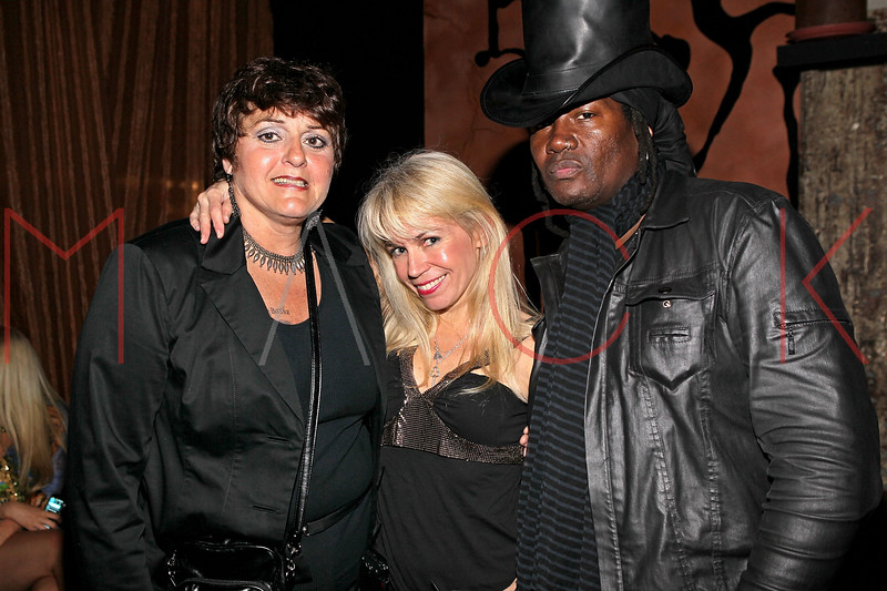 NEW YORK, NY - MAY 14:  Cathy O'Connor, Roberta Thompson and musician Billie Rae attend Fashion Designer Roberta Thompson's birthday party at Lair Restaurant & Lounge on May 14, 2011 in New York City.  (Photo by Steve Mack/S.D. Mack Pictures) *** Local Caption *** Cathy O'Connor; Roberta Thompson; Billie Rae