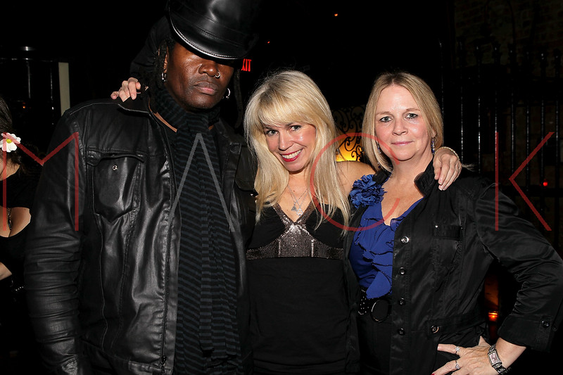 NEW YORK, NY - MAY 14:  Musician Bobbie Rae, Roberta Thompson and actress Geri Reischl attend Fashion Designer Roberta Thompson's birthday party at Lair Restaurant & Lounge on May 14, 2011 in New York City.  (Photo by Steve Mack/S.D. Mack Pictures) *** Local Caption *** Bobbie Rae; Roberta Thompson; Geri Reischl