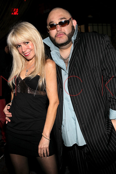 NEW YORK, NY - MAY 14:  Roberta Thompson and Pablo Escobar, Jr. attend Fashion Designer Roberta Thompson's birthday party at Lair Restaurant & Lounge on May 14, 2011 in New York City.  (Photo by Steve Mack/S.D. Mack Pictures) *** Local Caption *** Roberta Thompson; Pablo Escobar; Jr.