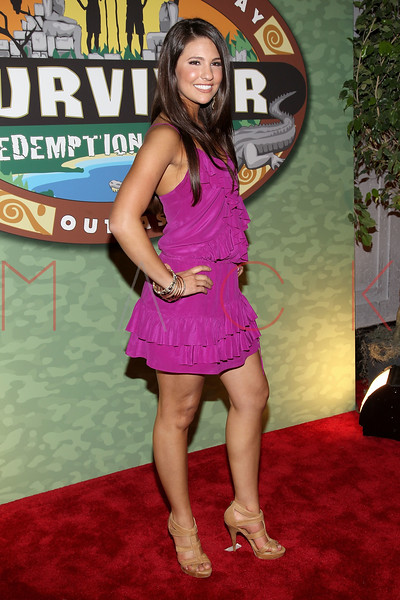 """NEW YORK, NY - MAY 15:  'Survivor: Redemption Island' contestant Natalie Tenerelli attends the """"Survivor: Redemption Island"""" Finale and Reunion Show at the Ed Sullivan Theater on May 15, 2011 in New York City.  (Photo by Steve Mack/S.D. Mack Pictures) *** Local Caption *** Natalie Tenerelli"""