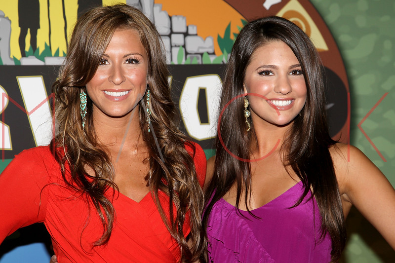 """NEW YORK, NY - MAY 15:  'Survivor: Redemption Island' contestants Ashley Underwood (L) and Natalie Tenerelli attends the """"Survivor: Redemption Island"""" Finale and Reunion Show at the Ed Sullivan Theater on May 15, 2011 in New York City.  (Photo by Steve Mack/S.D. Mack Pictures) *** Local Caption *** Ashley Underwood; Natalie Tenerelli"""