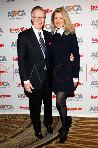 NEW YORK, NY - NOVEMBER 17:  Chuck Scarborough and wife Ellen Ward Scarborough attend the 2011 ASPCA Humane Awards luncheon at The Pierre Hotel on November 17, 2011 in New York City.  (Photo by Steve Mack/S.D. Mack Pictures) *** Local Caption *** Chuck Scarborough; Ellen Ward Scarborough