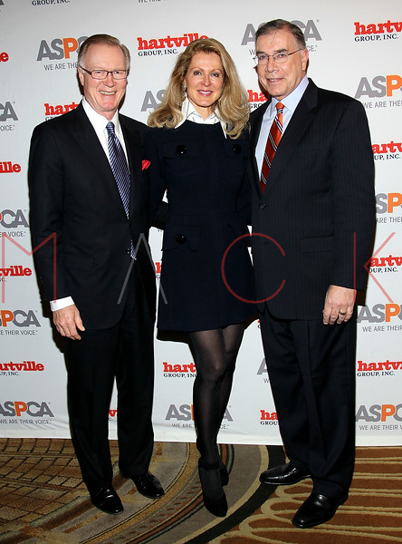 NEW YORK, NY - NOVEMBER 17:  Chuck Scarborough, wife Ellen Ward Scarborough and ASPCA President Ed Sayres attend the 2011 ASPCA Humane Awards luncheon at The Pierre Hotel on November 17, 2011 in New York City.  (Photo by Steve Mack/S.D. Mack Pictures) *** Local Caption *** Chuck Scarborough; Ellen Ward Scarborough; Ed Sayres
