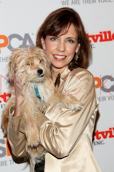 NEW YORK, NY - NOVEMBER 17:  Caroline Griffin (R) holding Mittens attends the 2011 ASPCA Humane Awards luncheon at The Pierre Hotel on November 17, 2011 in New York City.  (Photo by Steve Mack/S.D. Mack Pictures) *** Local Caption *** Caroline Griffin