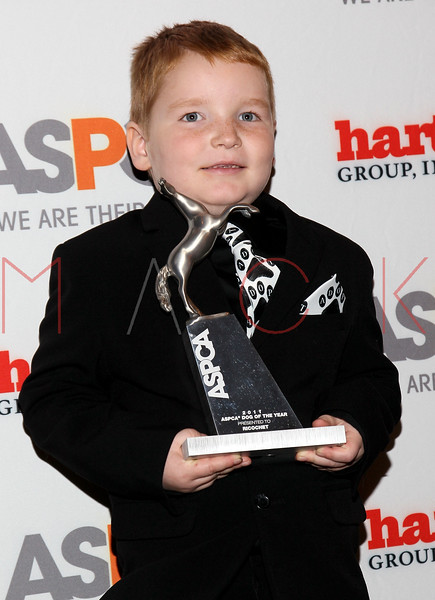 """NEW YORK, NY - NOVEMBER 17:  Stevie Nelson (ASPCA """"Tommy P. Monahan"""" Kid of the Year) attends the 2011 ASPCA Humane Awards luncheon at The Pierre Hotel on November 17, 2011 in New York City.  (Photo by Steve Mack/S.D. Mack Pictures) *** Local Caption *** Stevie Nelson"""