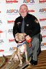 NEW YORK, NY - NOVEMBER 17:  Sgt. David Hunt (R) (ASPCA Public Service Award) and Ricochet (ASPCA Dog of the Year) attend the 2011 ASPCA Humane Awards luncheon at The Pierre Hotel on November 17, 2011 in New York City.  (Photo by Steve Mack/S.D. Mack Pictures) *** Local Caption *** Ricochet; David Hunt