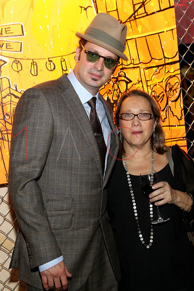 NEW YORK, NY - NOVEMBER 16:  Kaves and Bonnie Tandy Leblanc attend the 2011 Georges Duboeuf Beaujolais Nouveau unveiling at Stage 37 on November 16, 2011 in New York City.  (Photo by Steve Mack/S.D. Mack Pictures) *** Local Caption *** Kaves; Bonnie Tandy Leblanc