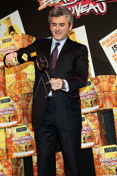 NEW YORK, NY - NOVEMBER 16:  Franck Duboeuf attends the 2011 Georges Duboeuf Beaujolais Nouveau unveiling at Stage 37 on November 16, 2011 in New York City.  (Photo by Steve Mack/S.D. Mack Pictures) *** Local Caption *** Franck Duboeuf