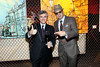 NEW YORK, NY - NOVEMBER 16:  Franck Duboeuf and Kaves attend the 2011 Georges Duboeuf Beaujolais Nouveau unveiling at Stage 37 on November 16, 2011 in New York City.  (Photo by Steve Mack/S.D. Mack Pictures) *** Local Caption *** Franck Duboeuf; Kaves