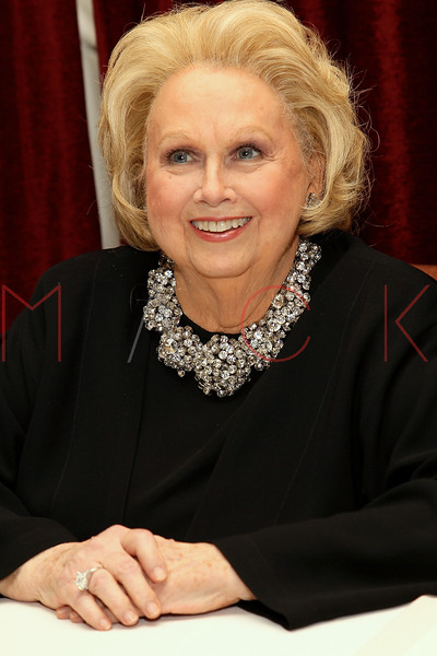 NEW YORK, NY - NOVEMBER 29:  Barbara Cook poses after a performance Feinstein's at Loews Regency Ballroom on November 29, 2011 in New York City.  (Photo by Steve Mack/S.D. Mack Pictures)
