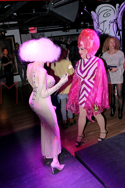 NEW YORK, NY - NOVEMBER 20:  Amanda Lepore and Perfidia attend the Blind Tiger grand opening on November 20, 2011 in New York City.  (Photo by Steve Mack/S.D. Mack Pictures) *** Local Caption *** Amanda Lepore; Perfidia