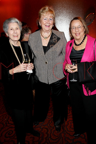 NEW YORK, NY - NOVEMBER 07:  Ann Berson, Margaret Smith and Ellen Roman attend the 40th Anniversary Carter Burden Center For The Aging Gala at the Mandarin Oriental Hotel on November 7, 2011 in New York City.  (Photo by Steve Mack/S.D. Mack Pictures) *** Local Caption *** Ann Berson; Margaret Smith; Ellen Roman