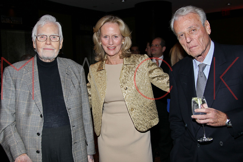 NEW YORK, NY - NOVEMBER 07:  Frank D. Gilroy, Susan Burden and William Goldman attend the 40th Anniversary Carter Burden Center For The Aging Gala at the Mandarin Oriental Hotel on November 7, 2011 in New York City.  (Photo by Steve Mack/S.D. Mack Pictures) *** Local Caption *** Frank D. Gilroy; Susan Burden; William Goldman