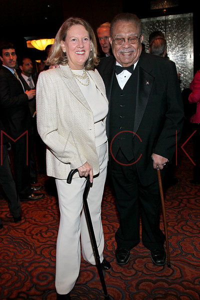 NEW YORK, NY - NOVEMBER 07:  Ellsworth Stanton (R) and Sally Phipps attend the 40th Anniversary Carter Burden Center For The Aging Gala at the Mandarin Oriental Hotel on November 7, 2011 in New York City.  (Photo by Steve Mack/S.D. Mack Pictures) *** Local Caption *** Sally Phipps; Ellsworth Stanton