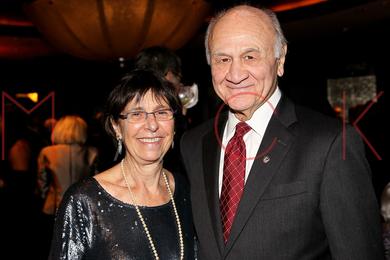 NEW YORK, NY - NOVEMBER 07:  Nicholas Scoppetta (R) and his wife Susan attend the 40th Anniversary Carter Burden Center For The Aging Gala at the Mandarin Oriental Hotel on November 7, 2011 in New York City.  (Photo by Steve Mack/S.D. Mack Pictures) *** Local Caption *** Susan Scoppetta; Nicholas Scoppetta