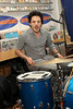 NEW YORK, NY - NOVEMBER 22:  Stefan Marolachakis (drums) performs at Other Music on November 22, 2011 in New York City.  (Photo by Steve Mack/S.D. Mack Pictures) *** Local Caption *** Stefan Marolachakis