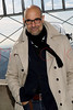NEW YORK, NY - NOVEMBER 01:  Stanley Tucci poses on the observation deck at the lighting of the The Empire State Building on November 1, 2011 in New York City.  (Photo by Steve Mack/S.D. Mack Pictures) *** Local Caption *** Stanley Tucci
