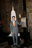 NEW YORK, NY - NOVEMBER 01:  Ken Biberaj lights the The Empire State Building on November 1, 2011 in New York City.  (Photo by Steve Mack/S.D. Mack Pictures) *** Local Caption *** Ken Biberaj