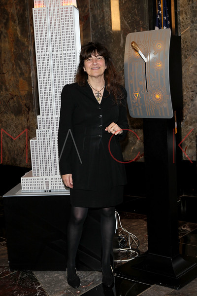 NEW YORK, NY - NOVEMBER 01:  Ruth Reichl lights the The Empire State Building on November 1, 2011 in New York City.  (Photo by Steve Mack/S.D. Mack Pictures) *** Local Caption *** Ruth Reichl