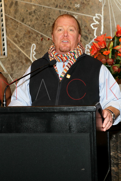 NEW YORK, NY - NOVEMBER 01:  Mario Batali lights the The Empire State Building on November 1, 2011 in New York City.  (Photo by Steve Mack/S.D. Mack Pictures) *** Local Caption *** Mario Batali
