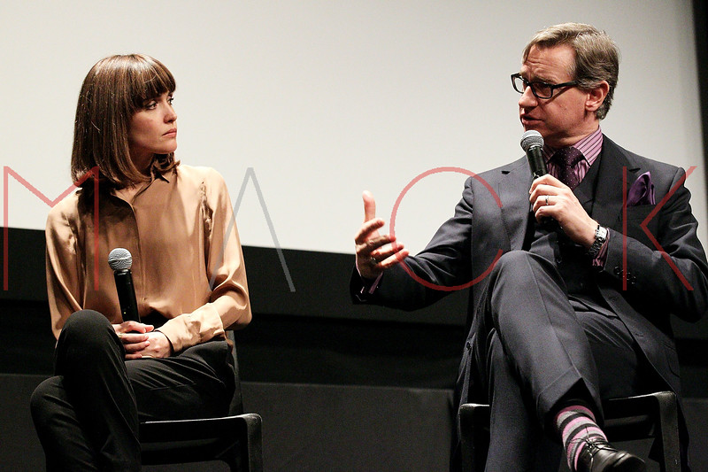 """NEW YORK, NY - NOVEMBER 21:  Actress Rose Byrne and director Paul Feig attend a screening of """"Bridesmaids"""" at the Museum of Modern Art on November 21, 2011 in New York City.  (Photo by Steve Mack/S.D. Mack Pictures)  Rose Byrne; Paul Feig"""