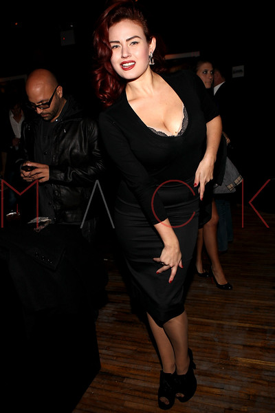 NEW YORK, NY - NOVEMBER 04:  Gia Genevieve attends Grand Opening of Rokk City - New York on November 4, 2011 in New York City.  (Photo by Steve Mack/WireImage for Rokk City) *** Local Caption *** Gia Genevieve
