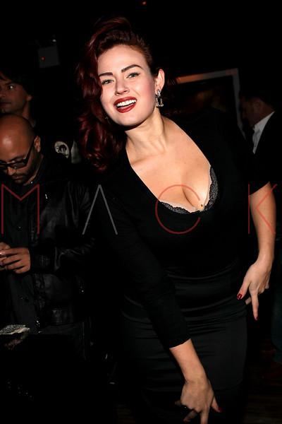 NEW YORK, NY - NOVEMBER 04:  Gia Genevieve attends Grand Opening of Rokk City - New York on November 4, 2011 in New York City.  (Photo by Steve Mack/WireImage for Rokk City) *** Local Caption *** Gia Genevieve
