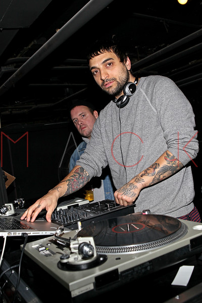 NEW YORK, NY - NOVEMBER 04:  DJ Johnny Lennon performs at Grand Opening of Rokk City - New York on November 4, 2011 in New York City.  (Photo by Steve Mack/WireImage for Rokk City) *** Local Caption *** Johnny Lennon